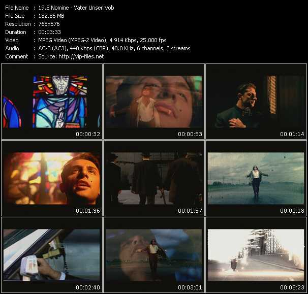 E Nomine video screenshot