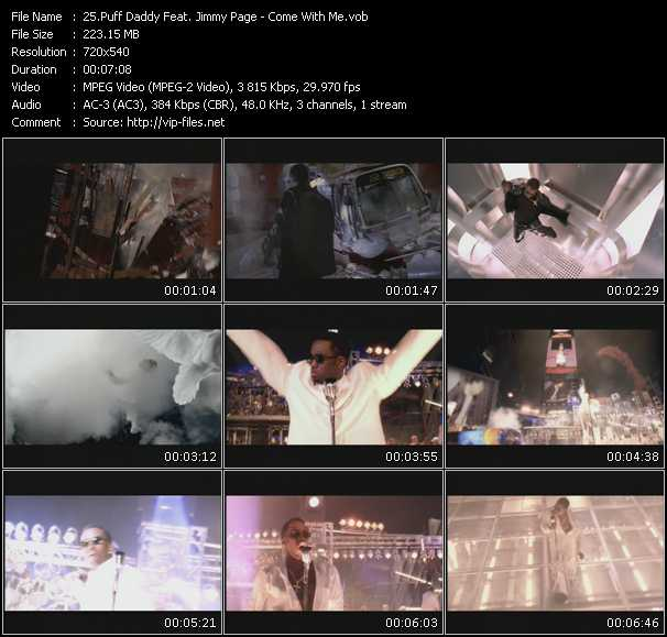 Puff Daddy (P. Diddy) Feat. Jimmy Page video screenshot
