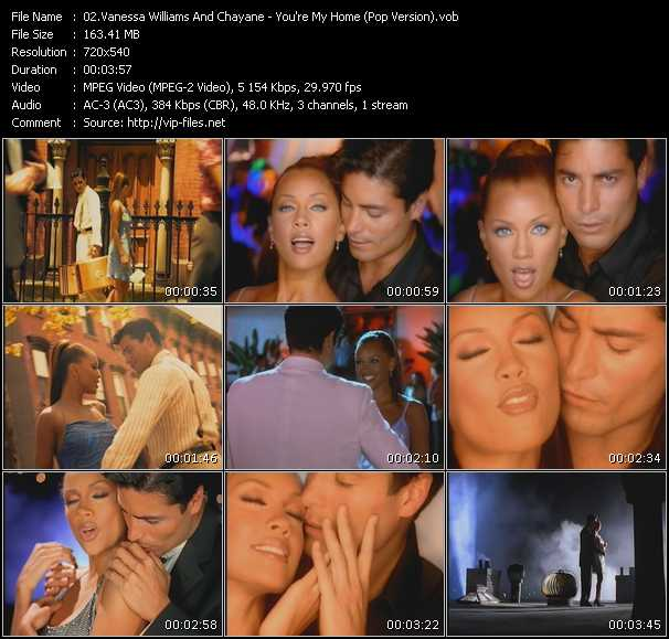 Vanessa Williams And Chayane video screenshot