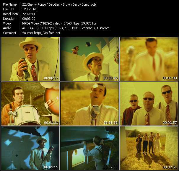 Cherry Poppin' Daddies video screenshot