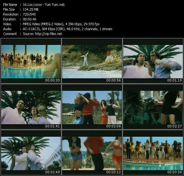 Los Locos video screenshot