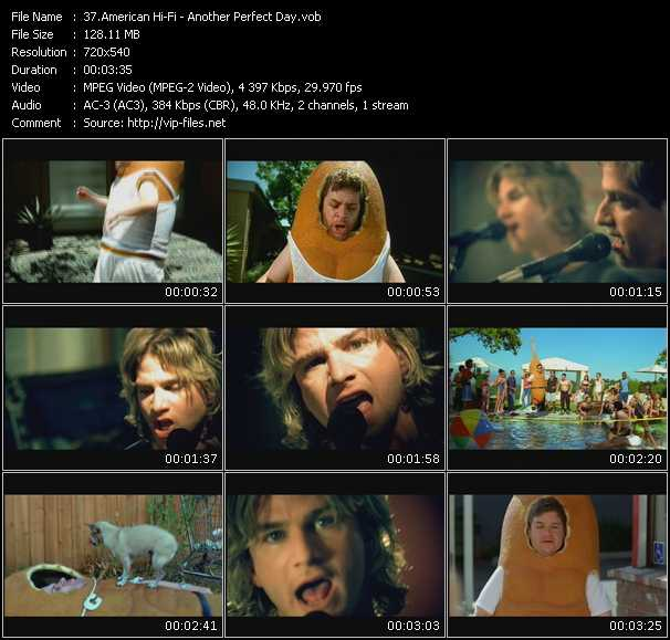 American Hi-Fi video screenshot