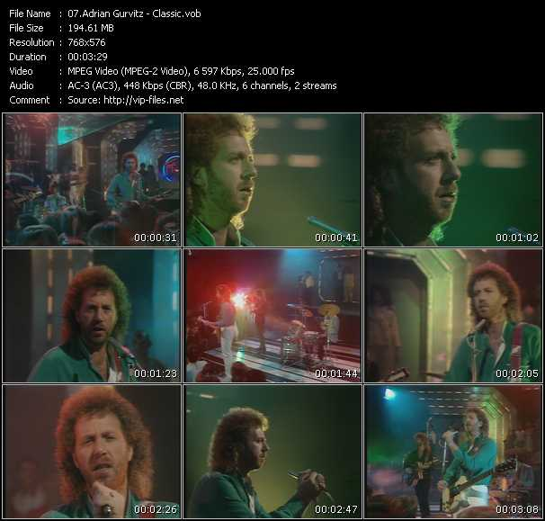 Adrian Gurvitz video screenshot