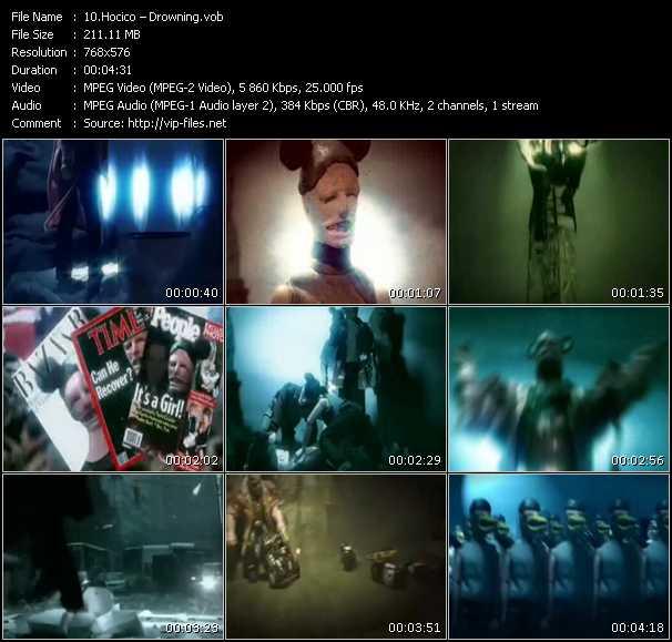 Hocico video screenshot