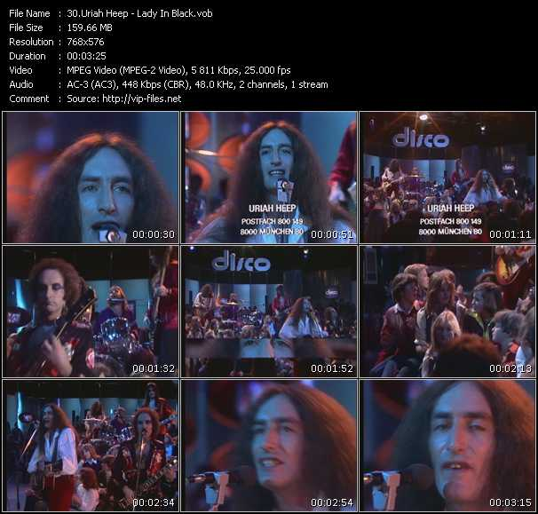Uriah Heep video screenshot
