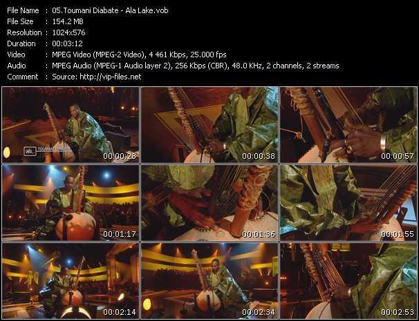 Toumani Diabate video screenshot
