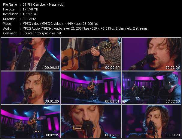 Phil Campbell video screenshot