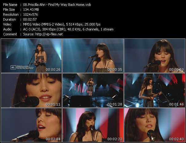 Priscilla Ahn video screenshot
