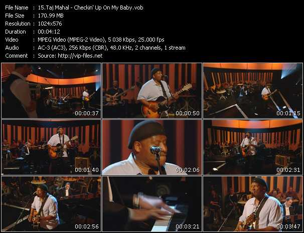 Taj Mahal video screenshot