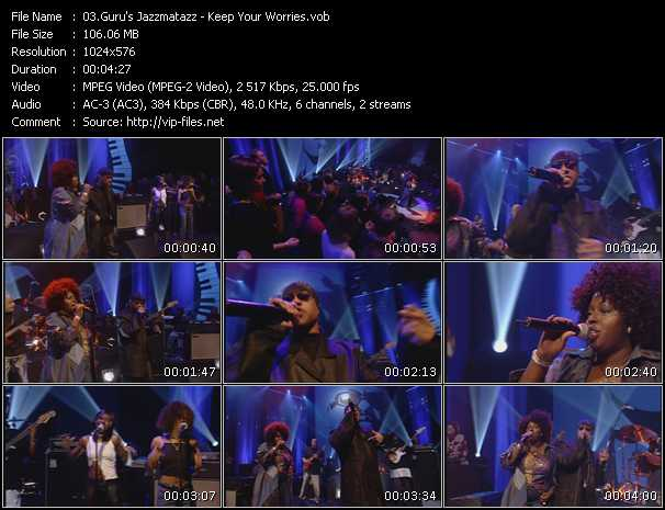 Guru's Jazzmatazz video screenshot