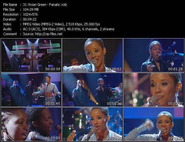 Vivian Green video screenshot