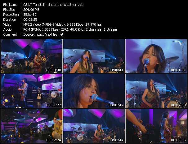 Kt Tunstall video screenshot