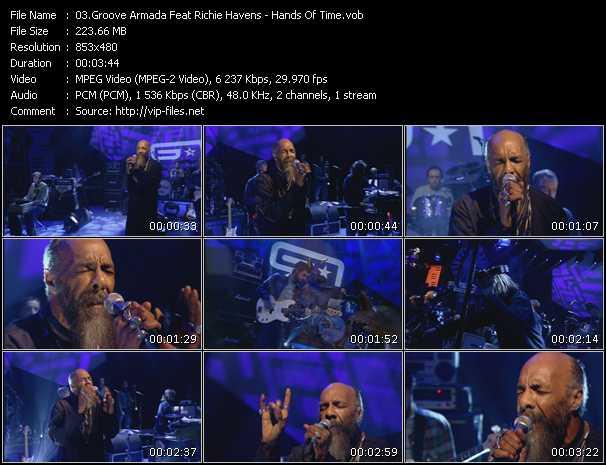 Groove Armada Feat. Richie Havens video screenshot