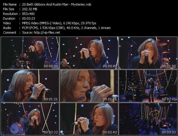 Beth Gibbons And Rustin Man video screenshot