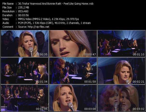 Trisha Yearwood And Bonnie Raitt video screenshot