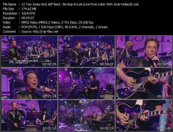 Tom Jones And Jeff Beck video screenshot