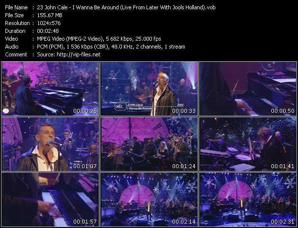 John Cale video screenshot