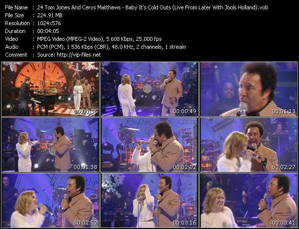 video Baby It's Cold Outs (Live From Later With Jools Holland) screen