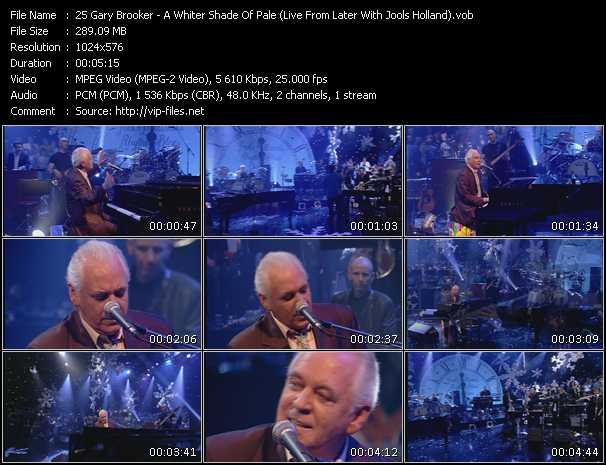 Gary Brooker video screenshot