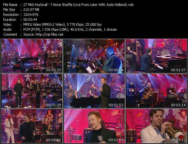 Mick Hucknall video screenshot