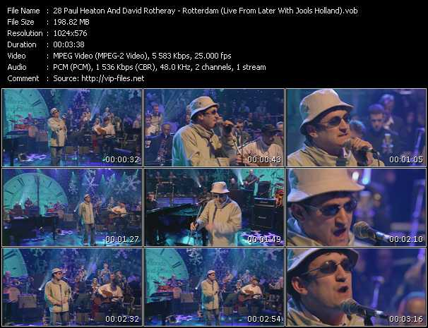 Paul Heaton And David Rotheray video screenshot