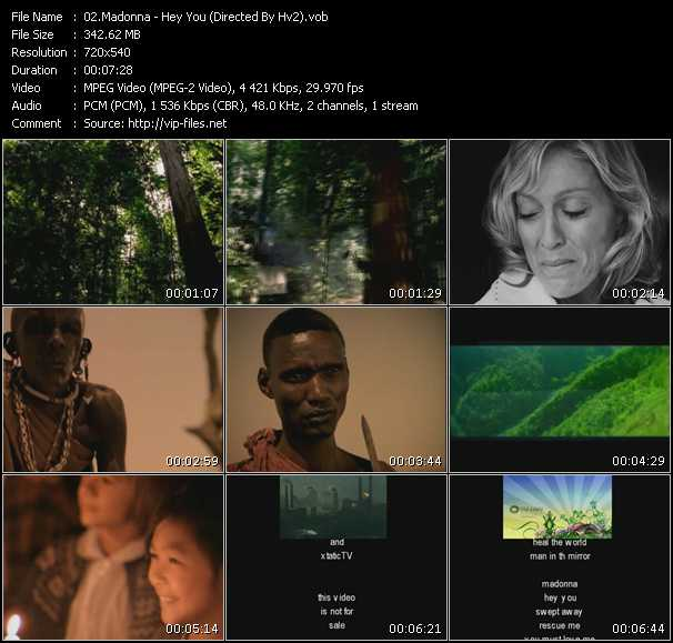 video Hey You (Directed By Hv2) screen