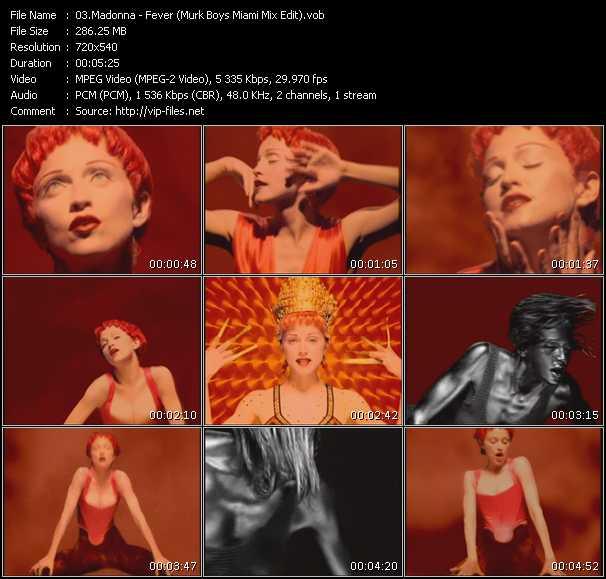 video Fever (Murk Boys Miami Mix Edit) screen