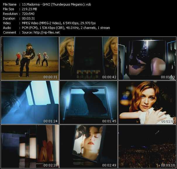 video GHV2 (Thunderpuss Megamix) screen