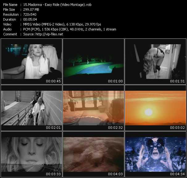 video Easy Ride (Video Montage) screen