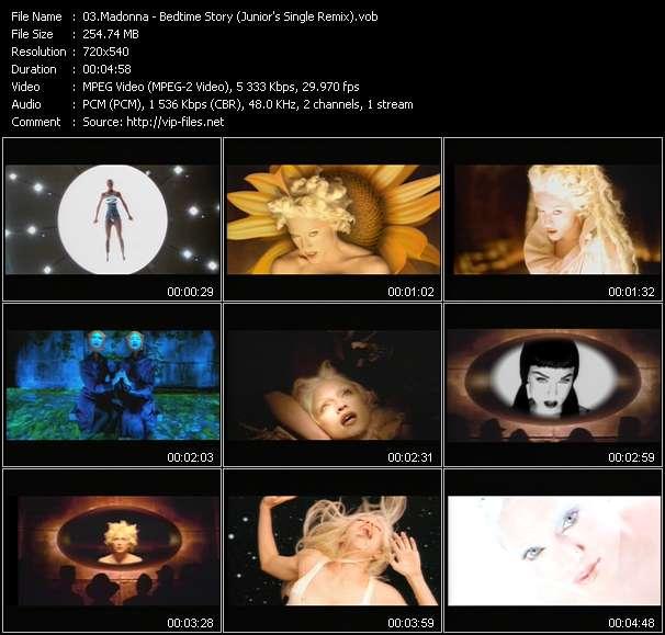 video Bedtime Story (Junior's Single Remix) screen