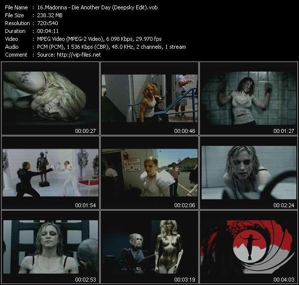 video Die Another Day (Deepsky Edit) screen