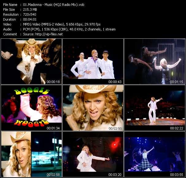 video Music (HQ2 Radio Mix) screen