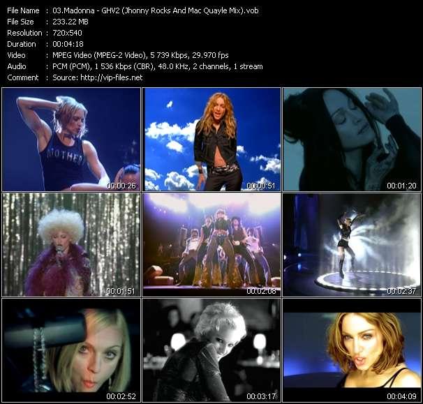 video GHV2 (Jhonny Rocks And Mac Quayle Mix) screen
