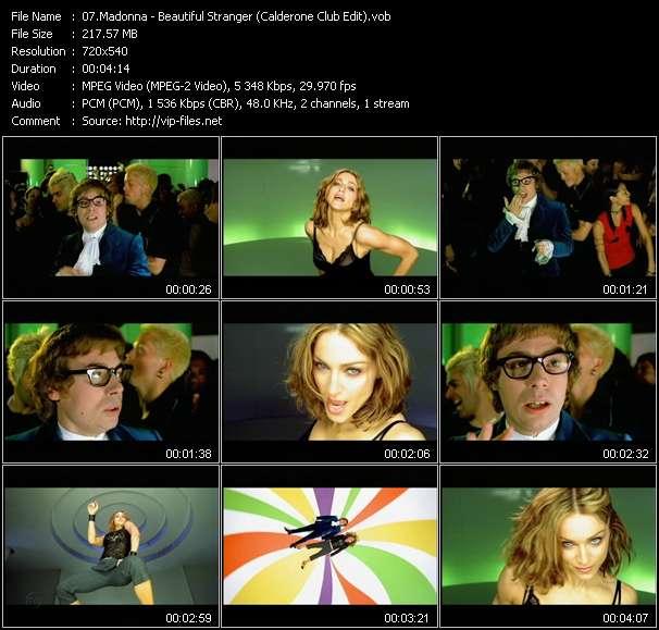 video Beautiful Stranger (Calderone Club Edit) screen