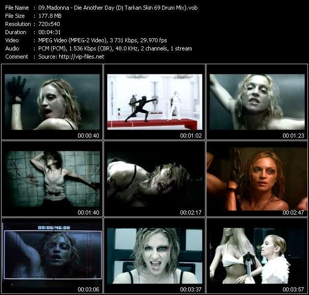 video Die Another Day (Dj Tarkan Skin 69 Drum Mix) screen