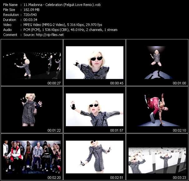video Celebration (Felguk Love Remix) screen