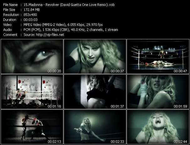 video Revolver (David Guetta One Love Remix) screen