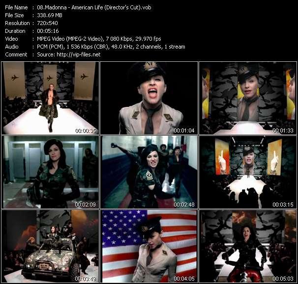 video American Life (Director's Cut) screen