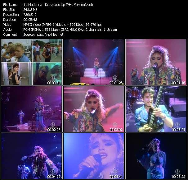 video Dress You Up (VH1 Version) screen