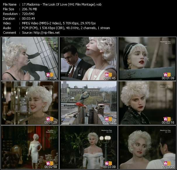 video The Look Of Love (VH1 Film Montage) screen