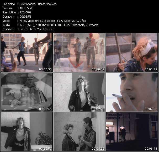 video Borderline screen