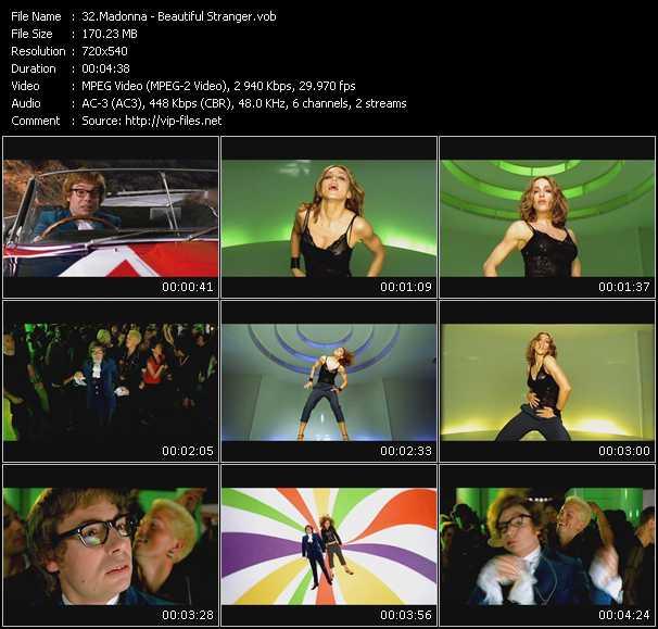 video Beautiful Stranger screen