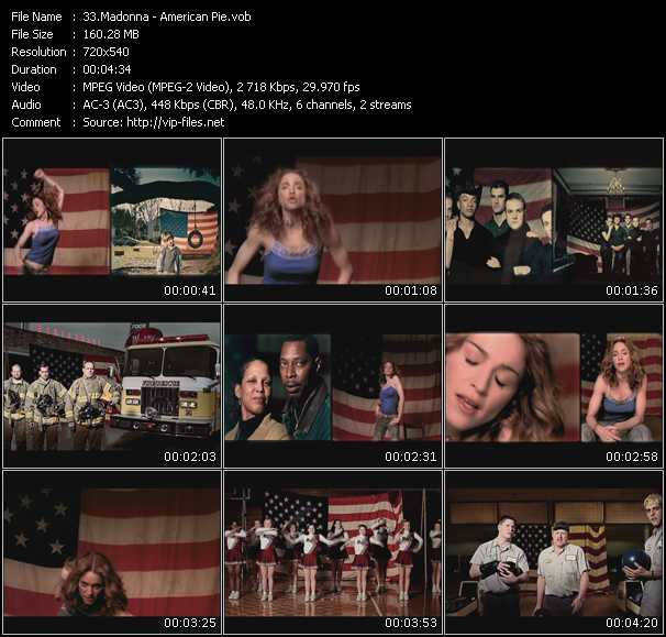 video American Pie screen