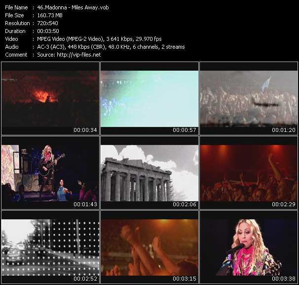 video Miles Away screen