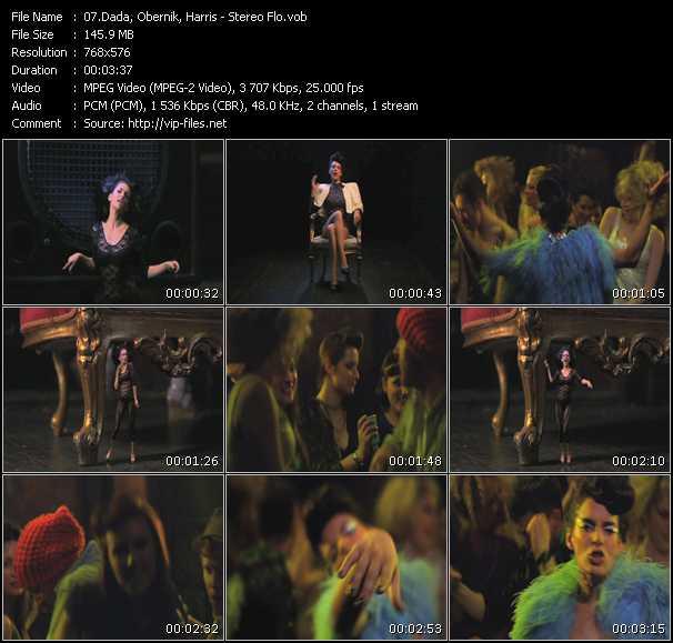 Dada, Obernik, Harris video screenshot