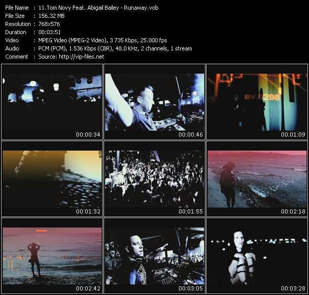 Tom Novy Feat. Abigail Bailey video screenshot