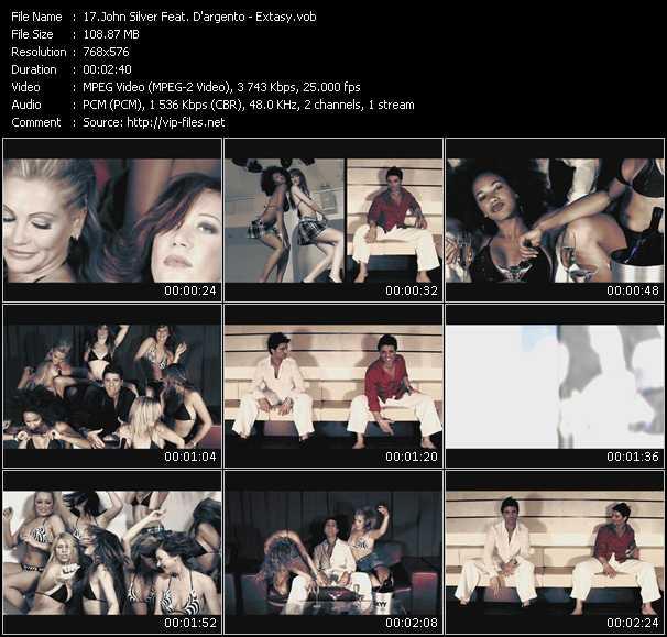 John Silver Feat. D'argento video screenshot