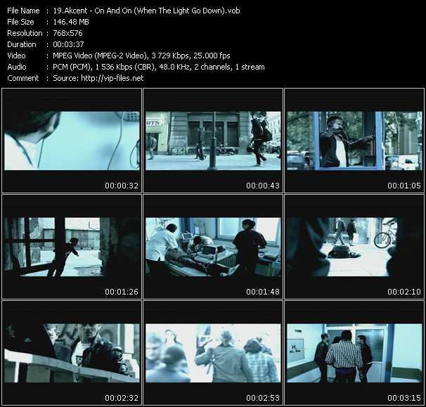 Akcent video screenshot
