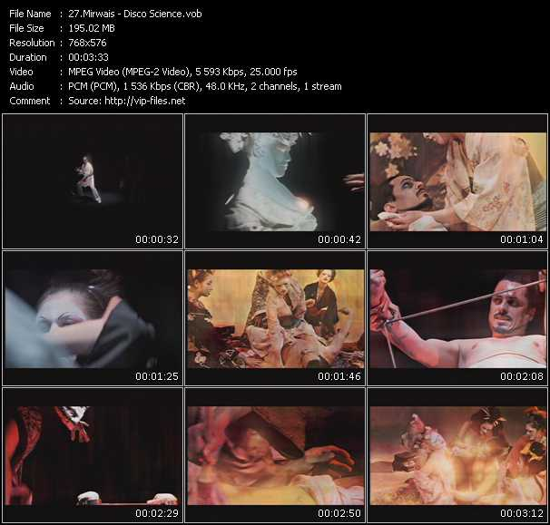 Mirwais video screenshot