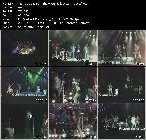video Shake Your Body (Victory Tour La) screen